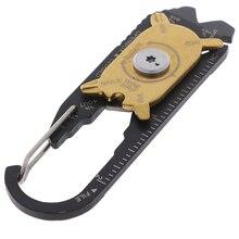 Utility Keychain Gadget Key-Ring Pocket multi-Tool Outdoor Camping Portable Edc Mini