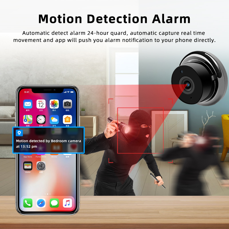 1080P Wireless Mini Camera With Night Vision And Fully Functional Security camera 12