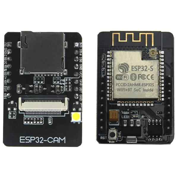ESP32-CAM ESP32-S Wifi Bluetooth Board OV2640 2MP Draadloze Camera Module Tf Card Slot Met Ipex 2.4G Sma Antenne Voor arduino