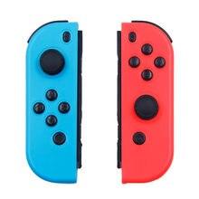 Mando inalámbrico para Nintendo Switch, Joystick de consola izquierda y derecha, función Bluetooth roja y azul para jo con