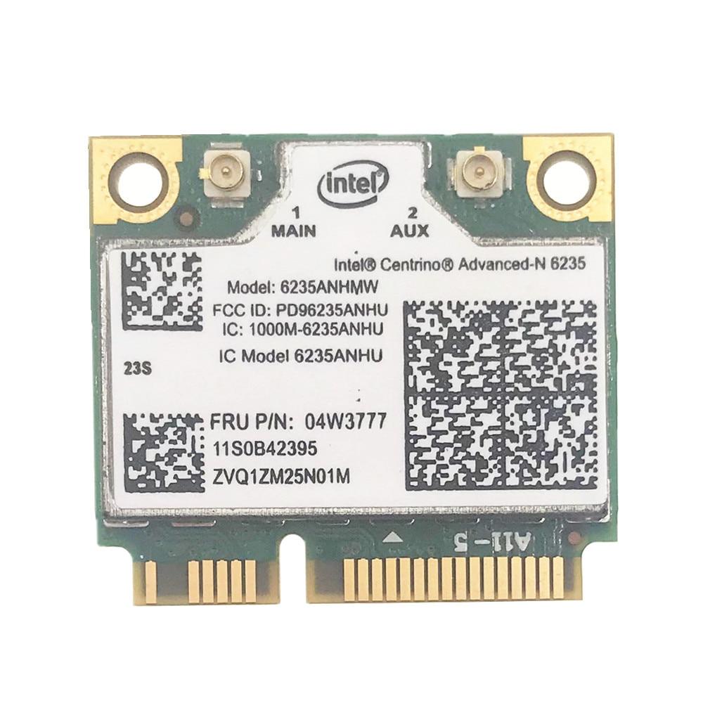 Wireless N Intel 6235 300M Wifi Bluetooth BT 4.0 Card For Lenovo IBM 04w3777