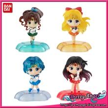 PrettyAngel   Original Bandai Twinkle Statue Sailor Moon Mercury Jupiter Venus Gashapon Capsule Mini Complete Toys Figures