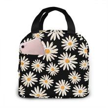 Daisy Waterproof Portable Insulated Lunch Bag, Washable And Reusable, Suitable For Outdoor Travel Picnic School Office