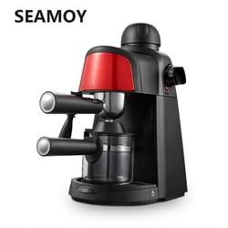 240ml Semi-Automatic Steam Type 5bar Espresso Coffee Machine Pressure Relief Protection Pause Function Coffee Milk Foam Maker