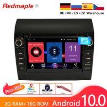"""7 """"אנדרואיד 10.0/9.0 רכב DVD רדיו נגן GPS ניווט מולטימדיה סטריאו עבור פיאט דוקאטו 2008 2015 סיטרואן Jumper פיג ו בוקסר"""