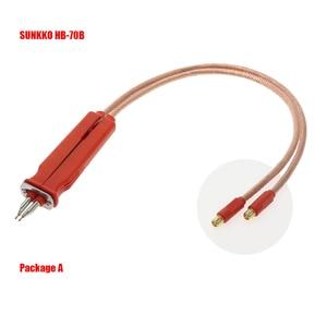 SUNKKO HB 70B lithium battery universal spot welding pen for SUNKKO 709A 709AD 709AD + 737G + 797DH welding machine
