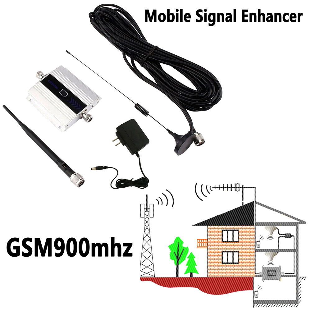 Cell Phone Signal Booster 900Mhz GSM Amplifier Antenna Durable For Mobile Phone NC99