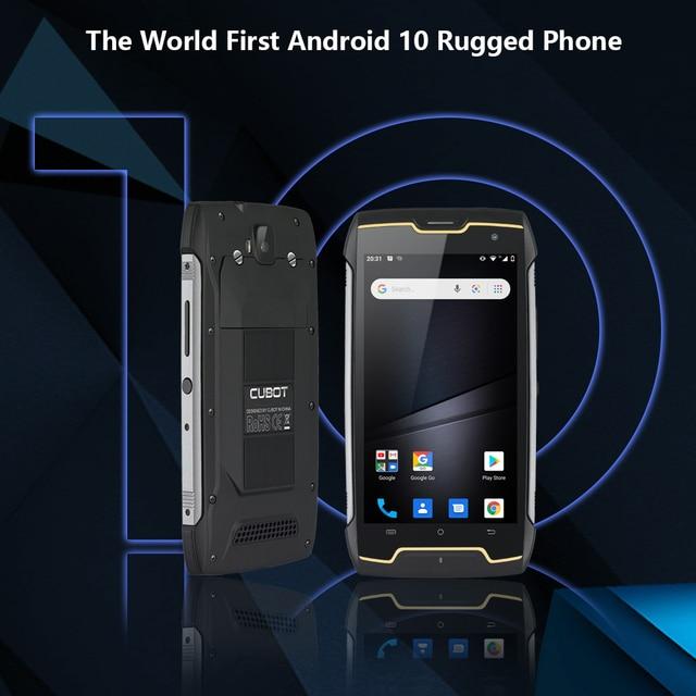Cubot KingKong CS Android 10 IP68 Waterproof Smartphone 5 Inch 4400mAh Face ID Dual SIM Card Telephone Rugged Phone King Kong CS 3