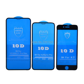 100pcs-10d-tempered-glass-for-iphone-12-mini-11-pro-max-xs-xr-x-8-7-6-plus-se-full-coverage-premium-curved-screen-protector-film