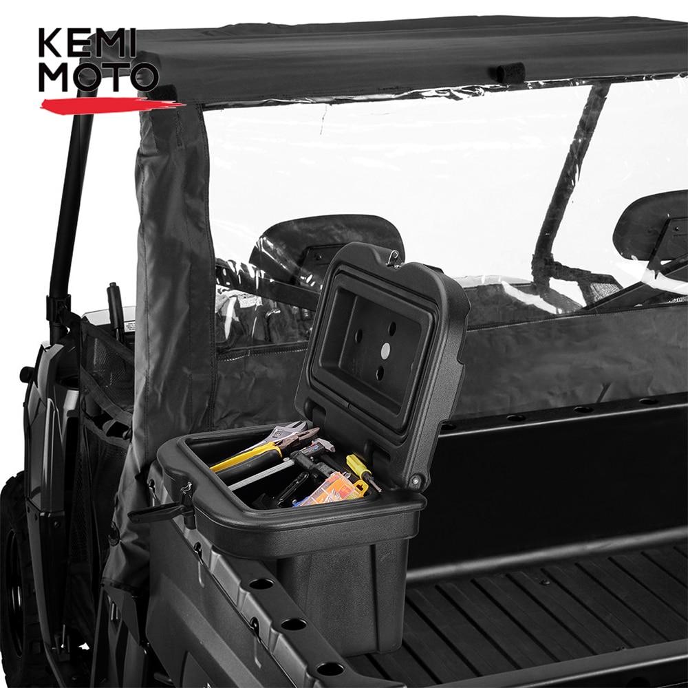 Kemimoto UTV Storage & Tool Device Box Low-Density PP For Polaris Ranger 400 425 570 600 700 800 900 2016 2017 2018 2019 2020