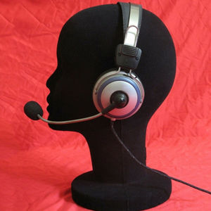 Styrofoam Men White Styrofoam Foam Hair Hat Headset Mannequin head model Wig Wig Stand Screen Shelf Wig Stands