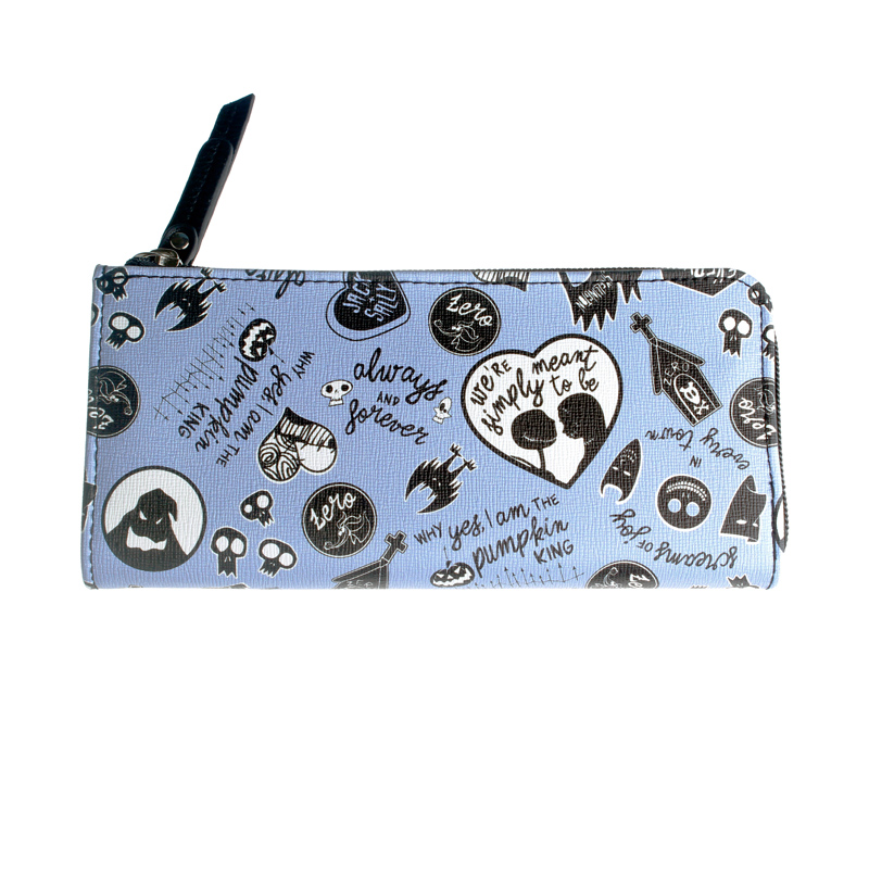 The Nightmare Before Christmas Wallet Large Capacity Wallets Female Purse Lady Purses Women Card Holder DFT5530