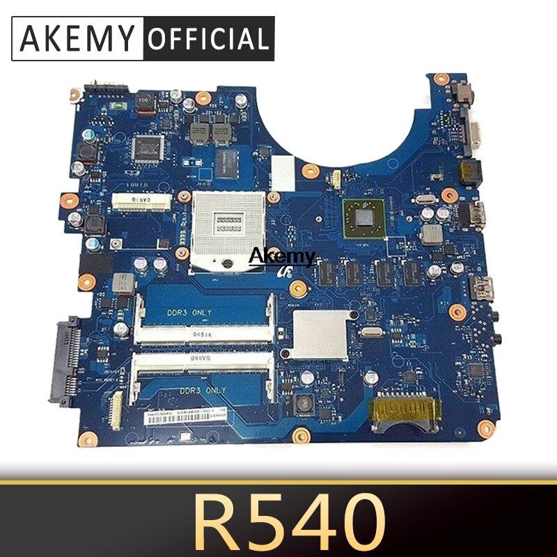 BREMEN2-L для Samsung R538 R540 R580 материнская плата для ноутбука BA41-01285A BA92-06626A HM55 ATI HD 4500 DDR3