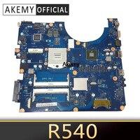 BREMEN2 L For Samsung R538 R540 R580 Laptop Motherboard BA41 01285A BA92 06626A BA92 06626B HM55 ATI HD 4500 DDR3
