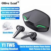 Y1 Drahtlose Kopfhörer Bluetooth Kopfhörer Surround Sound Ohrhörer Wasserdichte Ohrhörer Gaming headset Für Alle Smartphones