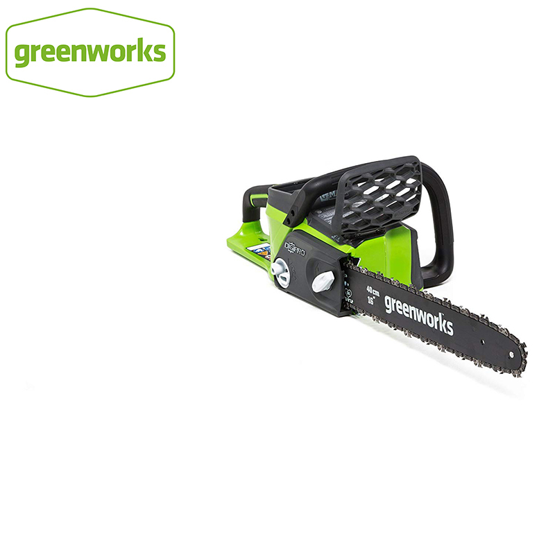 Greenworks 40v Cordless Chain Saw Brushless Motor  20312 Chainsaw ,not Including Battery And Charger