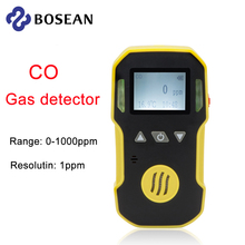 Portable Industry CO Gas Detector Carbon monoxide CO meter Water, Dust & Explosion Proof  USB chargea 0-1000ppm CO meter