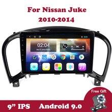 Android 9.0 Car Radio For Nissan Juke 2010 2011 2012 2013 2014 Navigation GPS 2 Din No 2 Din Autoradio DVD 9 IPS Multimedia