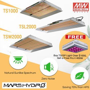 2019 Mars Hydro TS 1000W 2000W LED Coltiva La Luce Spettro Completo Dell'interno Piante Veg Fiore di Coltura Idroponica In Crescita