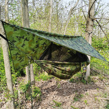 2 PCS Hamaka hammock with mosquito net hamak