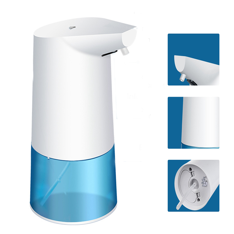 Xiaowei X4 Intelligent Soap Dispenser Automatic Induction Foaming Liquid Shampoo Container PIR Infrared Sensor Hand Washing image