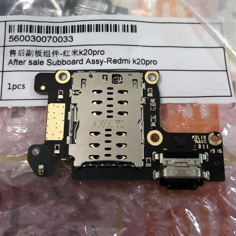 Image 3 - For Xiaomi K20 OEM Charging Port PCB Board for Xiaomi Redmi K20 Pro-in Mobile Phone Flex Cables from Cellphones & Telecommunications