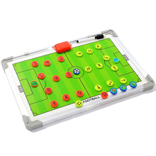 Coaching Useful Sports Soccer Training Aluminium Alloy Tool Magnetic Plate Marker Teaching Board Assisitant Equipment Guidance coaching champions soccer coaching in italy