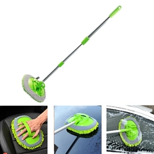Mop Detachable Rotatable-Brush Car-Cleaning-Accessories Broom Long-Handle