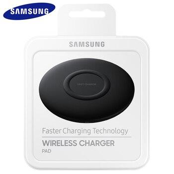 Original Samsung S10 EP-P110010W Fast Qi Wireless Charger Pad for Galaxy S9 S8 Plus for LG G3 G6 G7 G8S G8X V30 + V35 V40 V50 S