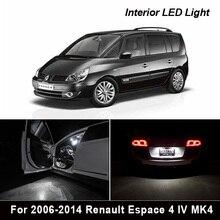 23 قطعة x ل 2006 2014 رينو Espace 4 IV MK4 سيارة خالية من الخطأ LED لمبات القراءة الداخلية قبة خريطة مصباح إضاءة صندوق الأمتعة بالسيارة عدة