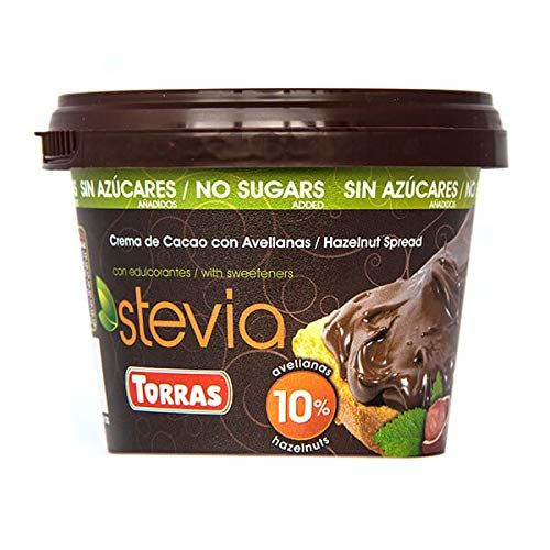 Torras Stevia Hazelnut Chocolate Spread 200 G (Pack Of 2)