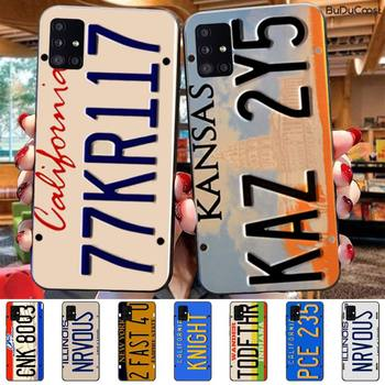 Supernatural License Plate KANSAS KAZ 2Y5 Phone Case For Samsung Galaxy A7 8 2018 6 8 Plus A9 2018 A10 20 30 40 50 70 image