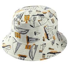 Двусторонняя белая темно-синяя Рыбацкая шляпа с парусником, женские шляпы с ковшом, женские и мужские шляпы в стиле хип-хоп, для танцовщицы, для путешествий, Панама, шапка Bob