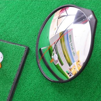 Golf Club Swing Trainer Aid Training Corrector Gesture Aid Practice Mirror Golf Swing Guide Training Aids Swing Correcting Tool