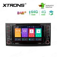 XTRONS Android 9.0 PX5 Octa Core Car Radio Stereo Multimedia DVD Player GPS For Volkswagen For TOUARE G 2004 2009 2010 2011