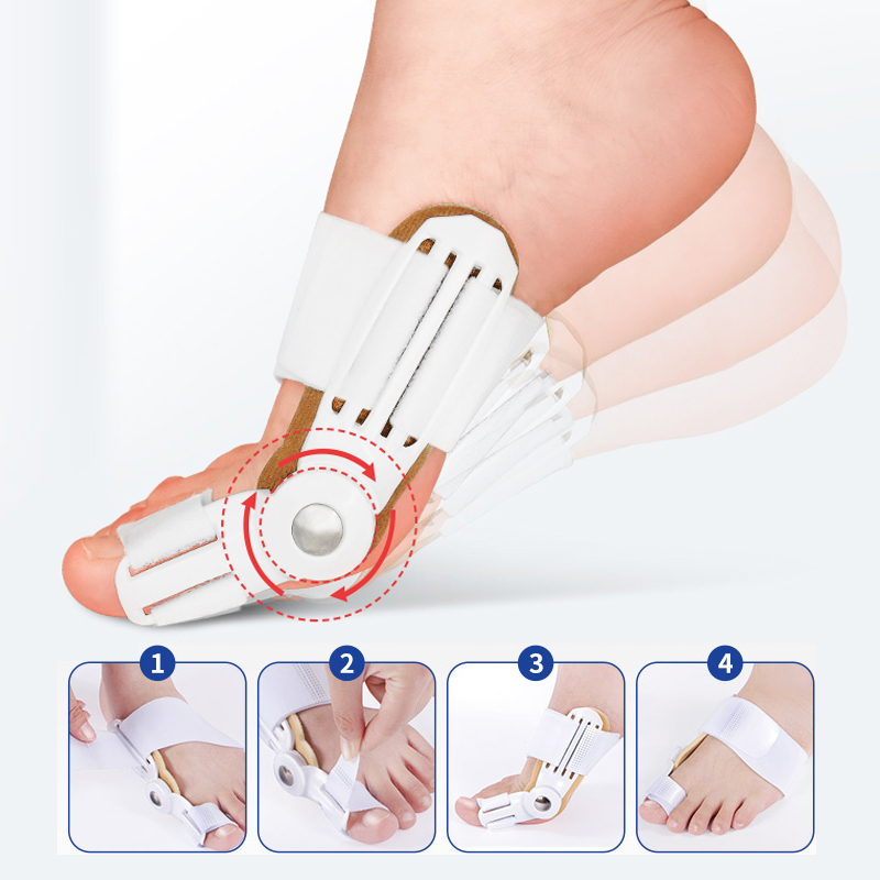 Foot Orthosis Thumb Valgus Corrector Insole Care Corrector Foot Bunion Device Hallux Valgus Orthopedic Braces Toe Correction