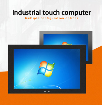 2020 Fanless Embedded 10/12/15/17/19 inch Touch Screen All in One i3 i5 i7 Processor Industrial Panel PC