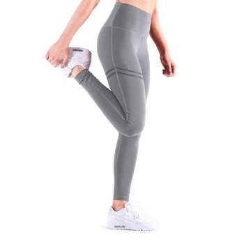 NORMOV New Hotsale Women Gold Print Leggings No Transparent Exercise Fitness Leggings Push Up Workout Female Pants 7