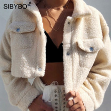SIBYBO Teddy Cozy Autumn Winter Women Coats and Jackets Long