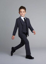 Kid Casual Blazers Suit For Baby Boy Black  Child Coat Fashion Children Jacket   Costume For Boy Graduation Suit H019