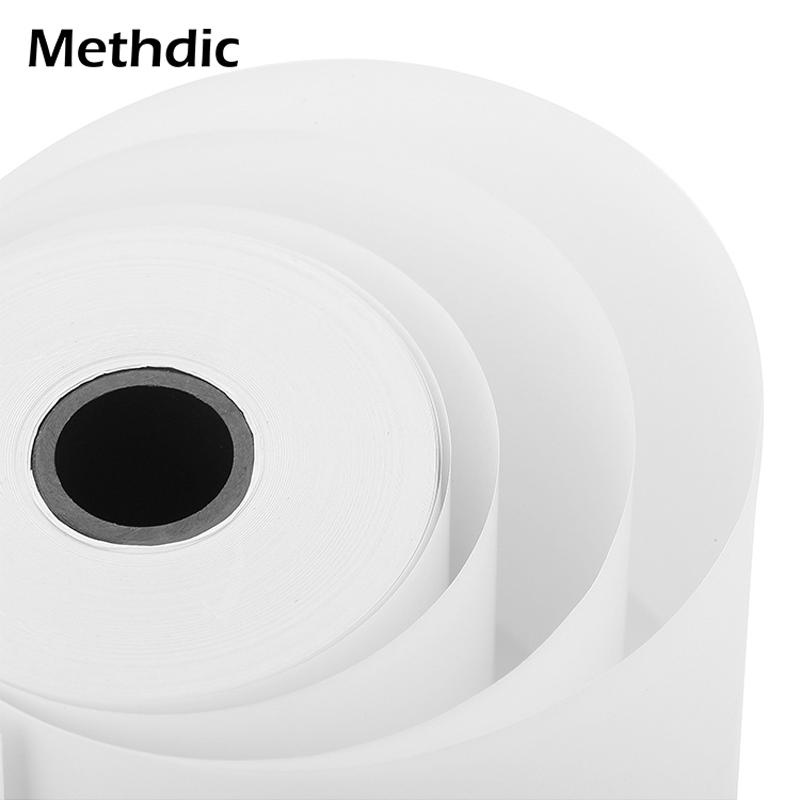 Methdic 50rolls 57x40mm Thermal Paper Cash Register Paper For ATM
