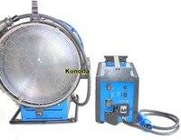 PRO 6000W Daylight Compact HMI Fresnel Light + 120V 4/6K Ballast + Flycase for Film Shooting Lighting