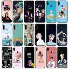 Park Jimin K Pop Soft Silicone Case for Xiaomi