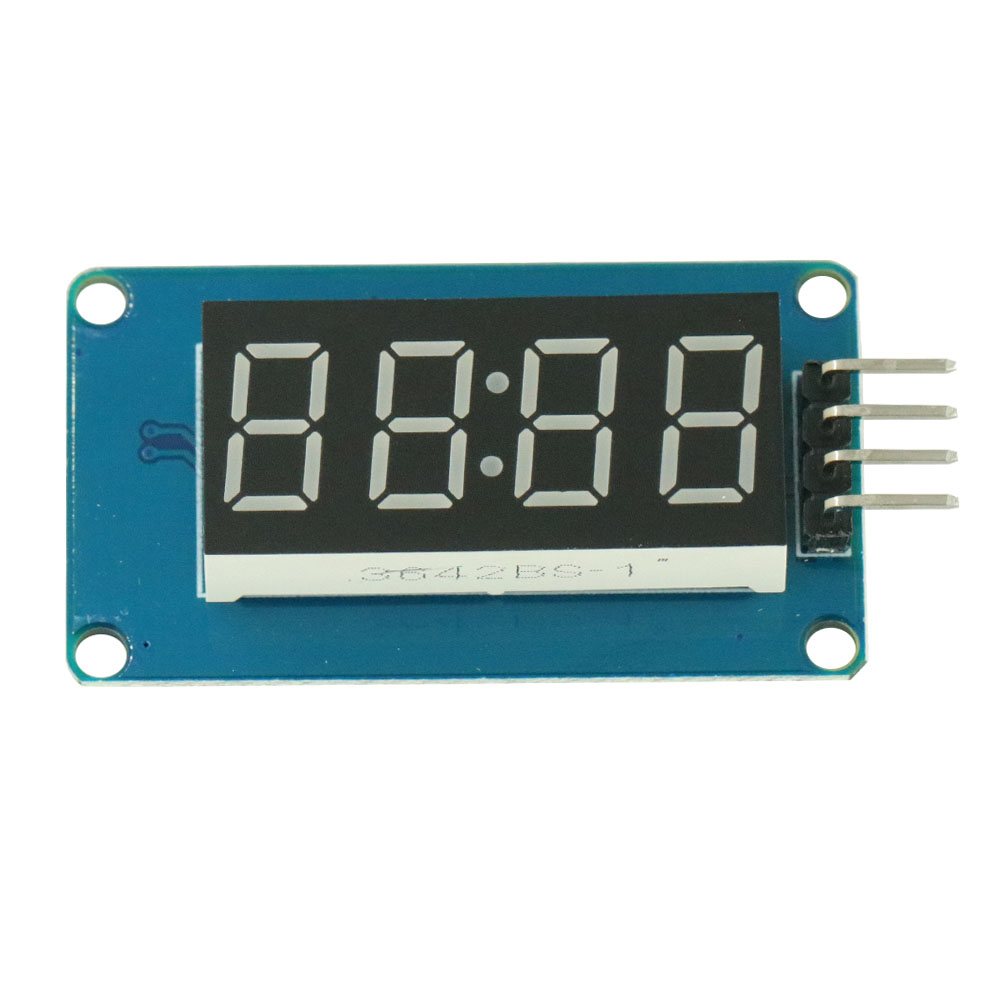 "0.36/"" 7-Segment 4-Bit TM1637 Digital Tube LED Green Display Module For Arduino"