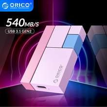 ORICO Chroma CN300 External Hard Drives 1TB 500GB 250GB Mini Portable SSD Type-C 540M/S External Solid State Drive External SSD
