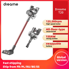 Dreame T20 Handheld Cordless Vacuum Cleaner Intelligent All-surface Brush Dust Collector Dust Collector Floor Carpet Aspirator