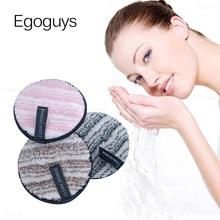 Puff Cotton Cleaning-Wipe Reusable Microfiber-Cloth-Pads Facial-Makeup-Remover Nail-Art