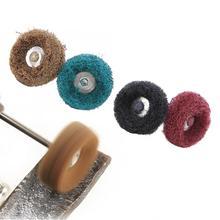 цена на 40Pcs Abrasive Wheel Flap Shank Brushed Abrasive Wheel Buffing Polishing Wheel Set For Rotary Tool