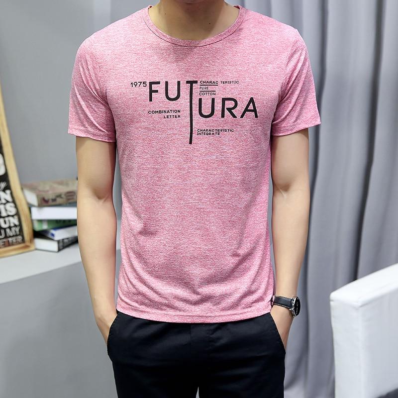 2020 Summer Men T-shirt Short Sleeve Compression Singlet Breathable Man Top Tees Men Polyester Coat Masculina Slim Style Fashion