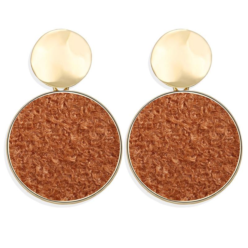 Vintage Earrings 2019 Geometric Shell Earrings For Women Girls BOHO Resin Drop Earrings Brincos Fashion Tortoise Jewelry 44